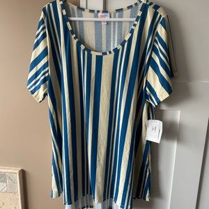 LuLaRoe 3XL Classic T Vertical Stripes